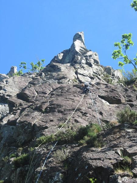 Rock Climbing Photo: On Super Direct Black Crag