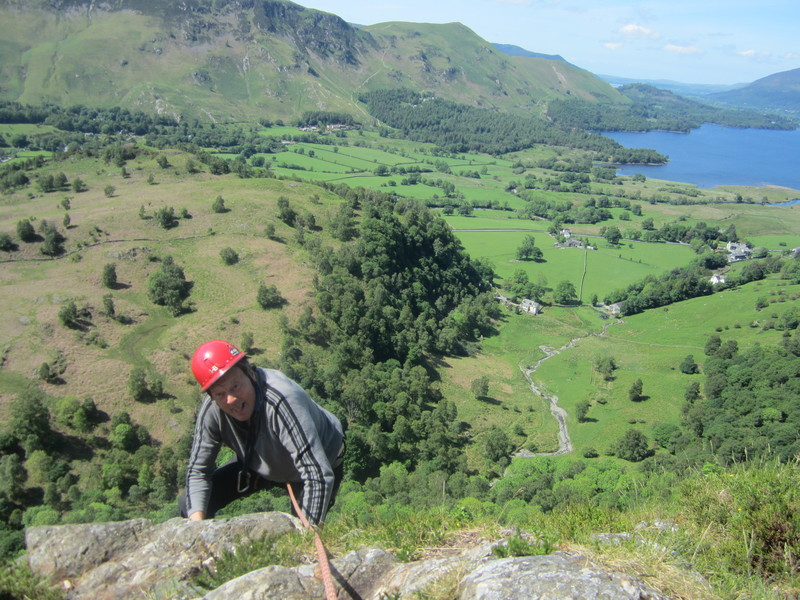 Topping out ..Black Crag