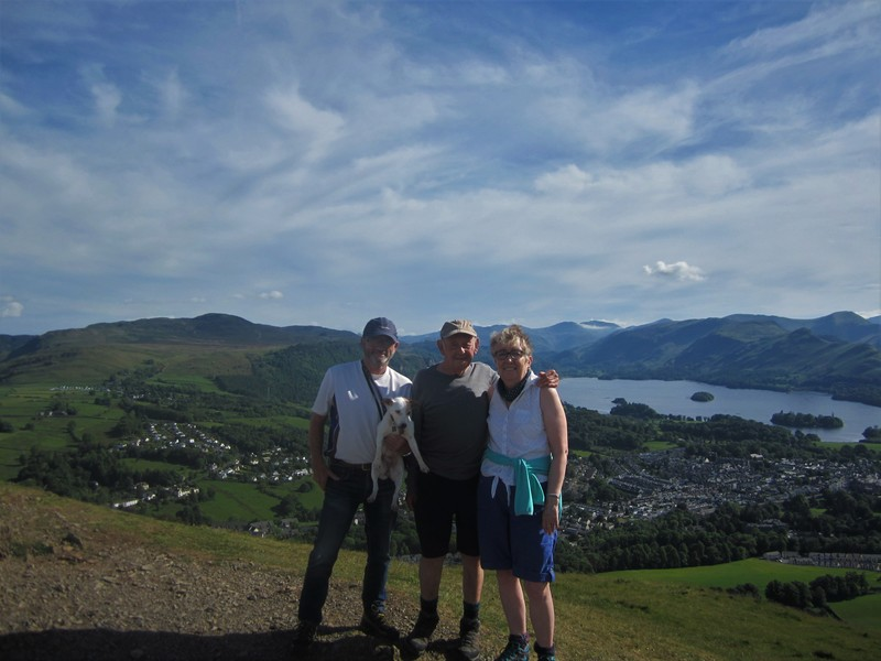 Top of Latrigg above Keswick