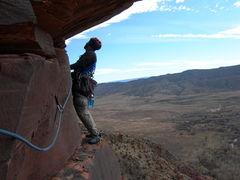Rock Climbing Photo: John Sasso, Nov. '09.