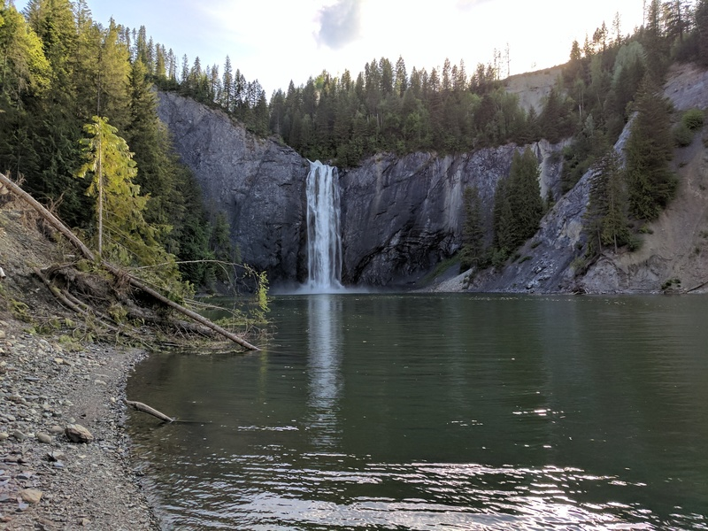 Rock Climbing Photo: Nearby Peewee falls is well worth seeing if you ma...