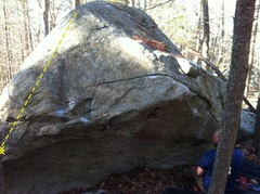 Rock Climbing Photo: The general gist of the climb