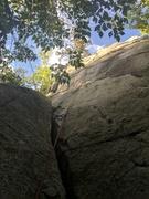 Rock Climbing Photo: White Face route