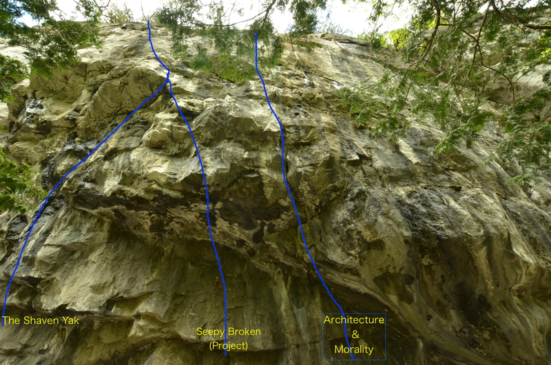Overhang Section
