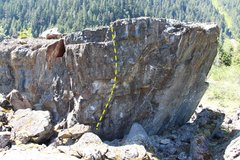 Rock Climbing Photo: 1. Pretty Little Hate Machine