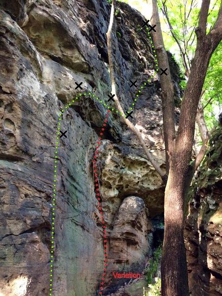 Rock Climbing Photo: Fitz's