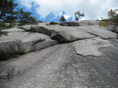 Rock Climbing Photo: The way we did P1, but I think this is more P1 of ...
