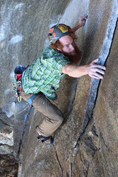 "Rock Climbing Photo: Matt Kahl sticks ""The Move"""