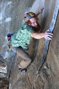 """Rock Climbing Photo: Matt Kahl sticks """"The Move"""""""
