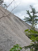 "Rock Climbing Photo: ""Right Hand Dike"" as viewed from the bas..."