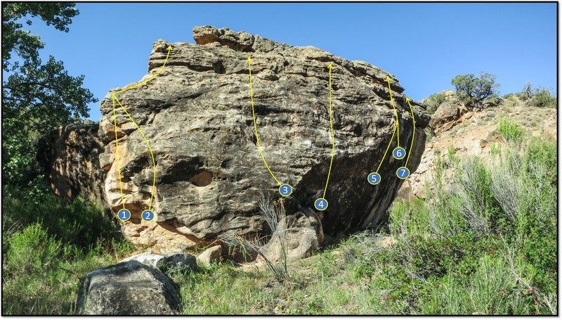 Rock Climbing Photo: 3. Make a Hole.
