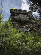 Rock Climbing Photo: Croc Rock West crag. 150 yards left/uphill from ma...