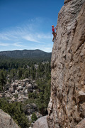 Rock Climbing Photo: Josh at the finish of Doc's Holiday.  One of my fa...