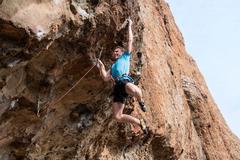 Rock Climbing Photo: Dyno move