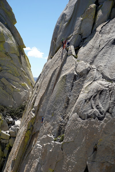 Climbers on Fancy Free, 5/27/17. If you're out there, guys, I think you may have gotten some photos of us on Igor Unchained? Would love to see them!