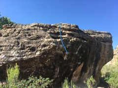 Rock Climbing Photo: Two options for beta but both start and end in the...