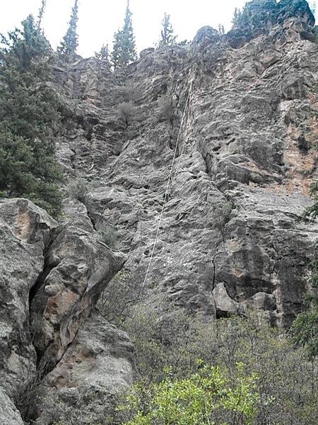 Rock Climbing Photo: Baptistina