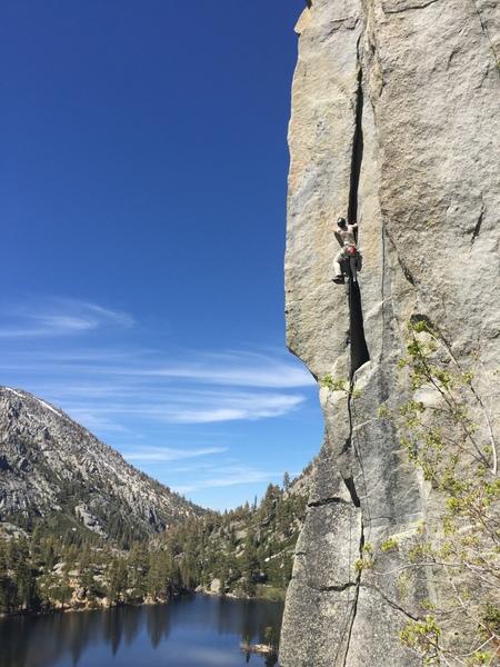 Rock Climbing Photo: Space Walk