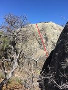 Rock Climbing Photo: Beta for Route 19.