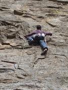 Rock Climbing Photo: EH on Sundance