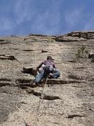 Rock Climbing Photo: EH heading up Swiftly