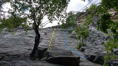 Rock Climbing Photo: A typically crowded day. Climber be warned, you ar...