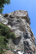 "Rock Climbing Photo: Sweet day at sphinx....Right climber is on ""S..."
