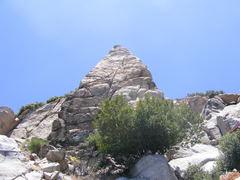 Rock Climbing Photo: Temple rock...pyramid face