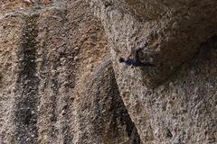 Rock Climbing Photo: Jon about to finish up Super Spunk.