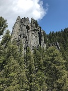 Rock Climbing Photo: Spare Rib buttress