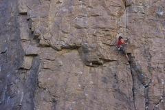 Rock Climbing Photo: best route at social platform.