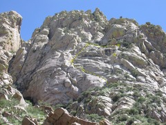 Rock Climbing Photo: Bastion Wall