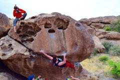 Rock Climbing Photo: T-Bone Shuffle