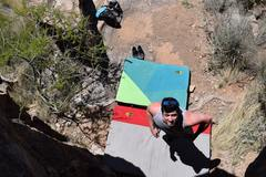 Rock Climbing Photo: The Laughing Sutra