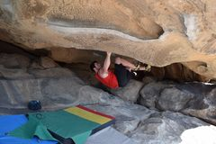 Rock Climbing Photo: Moonshine Roof