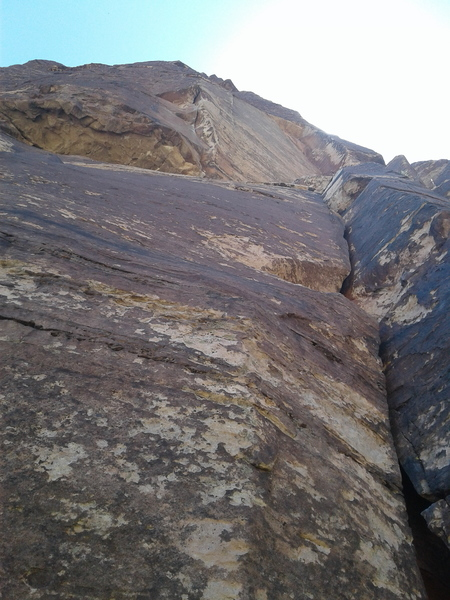 Rock Climbing Photo: From the bas