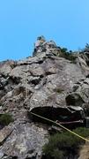 Rock Climbing Photo: Crux groove