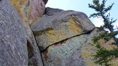 Rock Climbing Photo: Hypotension (left) & Beta Blocker (right traverse)...