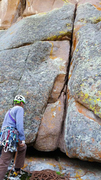Rock Climbing Photo: At the base of Ah Fair of the Heart.