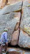 Rock Climbing Photo: At the base of Ah Fair of the Heart.
