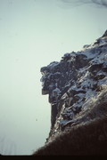 Rock Climbing Photo: The Old Man of the Mtns, Cannon Cliff - before the...