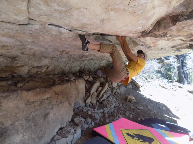 Rock Climbing Photo: Flailing