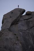 Rock Climbing Photo: Solo train