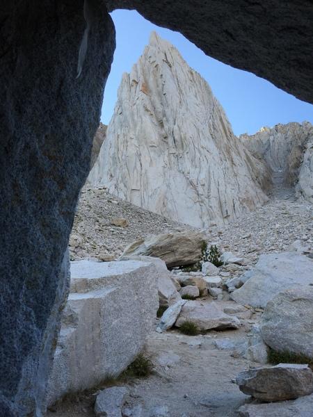 Rock Climbing Photo: bivy cave