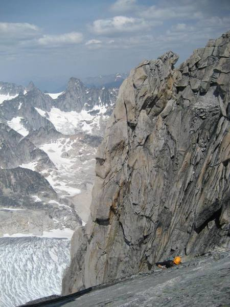 on the traverse/descent