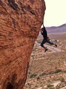 Rock Climbing Photo: Lift off.