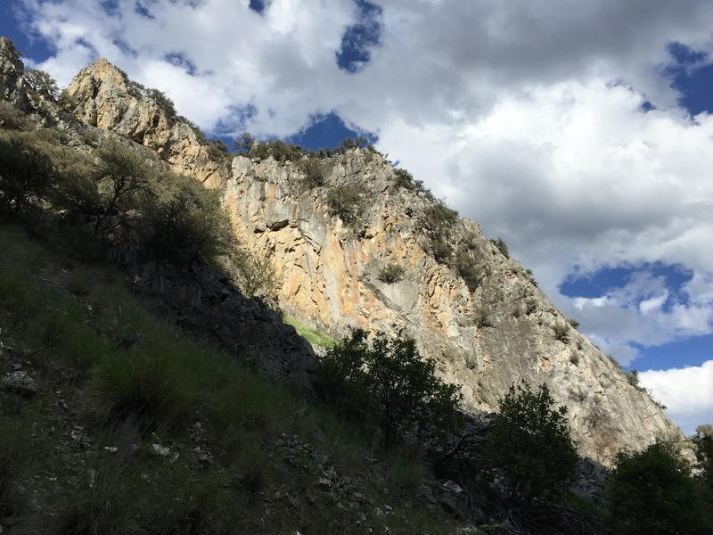 Rock Climbing Photo: Landscape view of the west side of French Gulch Sl...
