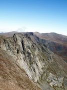 Rock Climbing Photo: East Ridge, Southwest Face, Mt. Bierstadt.