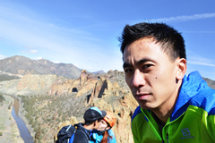 Rock Climbing Photo: Ever been the third wheel on a multi-pitch before?...