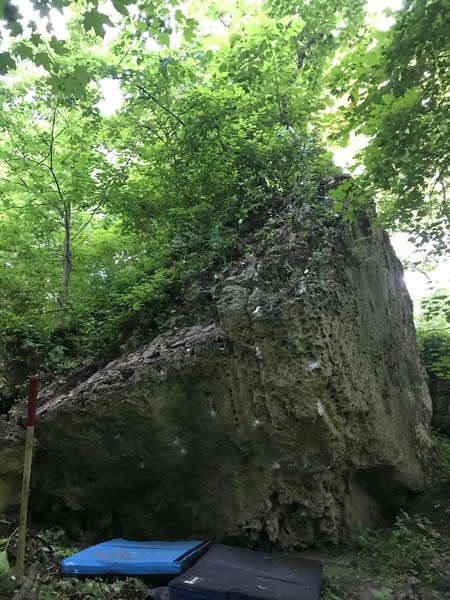 Rock Climbing Photo: A great looking Boulder.